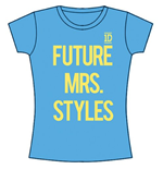 Camiseta One Direction de chica Future Mrs Styles