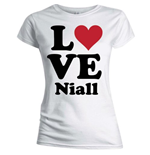 Camiseta One Direction de mujer Love Niall