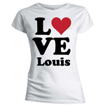 Camiseta One Direction de mujer Love Louis