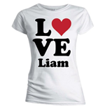 Camiseta One Direction de mujer Love Liam