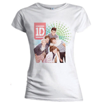 Camiseta One Direction de mujer Colour test