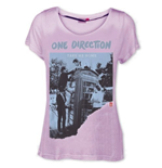 Camiseta One Direction de chica Take me Home- Ripped