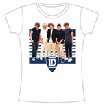 Camiseta One Direction - ONE Ivy League Stripes