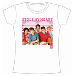 Camiseta One Direction de mujer 1D Stole My Heart