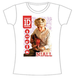 Camiseta One Direction de mujer 1D Niall Symbol Field