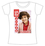 Camiseta One Direction de mujer 1D Harry Symbol Field