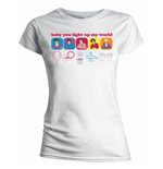 Camiseta One Direction de mujer Line Drawing