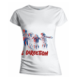 Camiseta One Direction de mujer Band Jump
