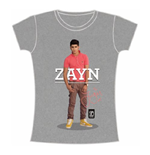 Camiseta One Direction de mujer Zayn Standing Pose