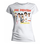 Camiseta One Direction de mujer Individual Shots
