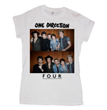 Camiseta One Direction de mujer Four
