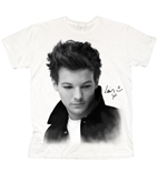 Camiseta One Direction de mujer Luis Solo B&W