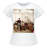 Camiseta One Direction de mujer Band Lounge Colour