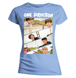 Camiseta One Direction de chica Band Sliced