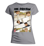 Camiseta One Direction de mujer Band Sliced