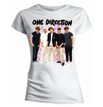 Camiseta One Direction de mujer Flowers