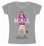 Camiseta One Direction de mujer Niall Standing Pose