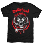 Camiseta Motorhead Lightning Wreath