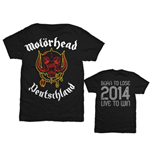 Camiseta Motorhead World Cup Germany