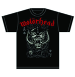 Camiseta Motorhead Playing Card