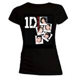 Camiseta One Direction de mujer Photo Stack