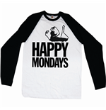 Camiseta manga larga Happy Mondays Logo