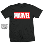 Camiseta Marvel Superheroes Marvel Box Logo