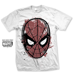 Camiseta Spiderman Spidey Big Head Distressed
