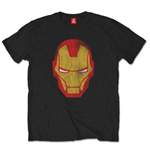 Camiseta Marvel Comics Iron Man Distressed