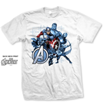 Camiseta Marvel Superheroes Group Assemble