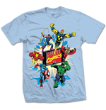 Camiseta Marvel Superheroes Marvel Montage 4.