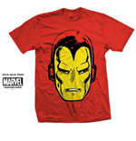 Camiseta Iron Man Iron Man Big Head