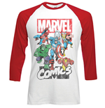 Camiseta manga larga Marvel Superheroes Marvel Montage