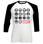 Camiseta manga larga Marvel Superheroes Marvel Icons