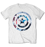 Camiseta Capitán America Captain America Knock-out