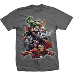 Camiseta Marvel Superheroes Big Group