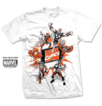 Camiseta Marvel Superheroes Marvel Montage 2.