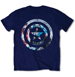 Camiseta Capitán America - Captain America Knock-out