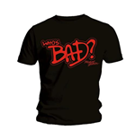 Camiseta Michael Jackson  Who's Bad