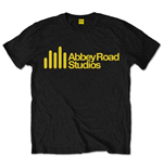 Camiseta Abbey Road Studios Yellow Main Logo