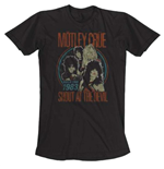 Camiseta Mötley Crüe Vintage World Tour