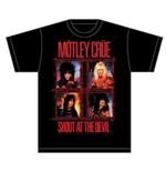 Camiseta Mötley Crüe Shout Wire