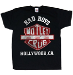 Camiseta Mötley Crüe de bebé Bad Boys Shield