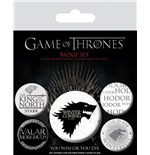 Chapita Juego de Tronos (Game of Thrones)  - Winter Is Coming