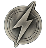 Justice League Abrebotella The Flash Logo 10 cm