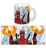 Marvel Comics Taza Deadpool Guerilla