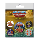 Masters of the Universe Pack 5 Chapas I Have The Power