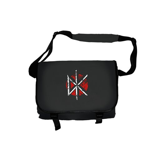 Bolso Messenger Dead Kennedys - Distressed Logo