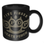 Taza Five Finger Death Punch - Brass Knuckle