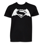 Camiseta Batman vs Superman Movie Logo